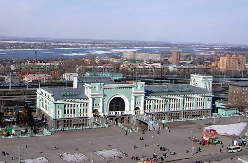 Вокзал ж/д станции «Новосибирск-Главный»